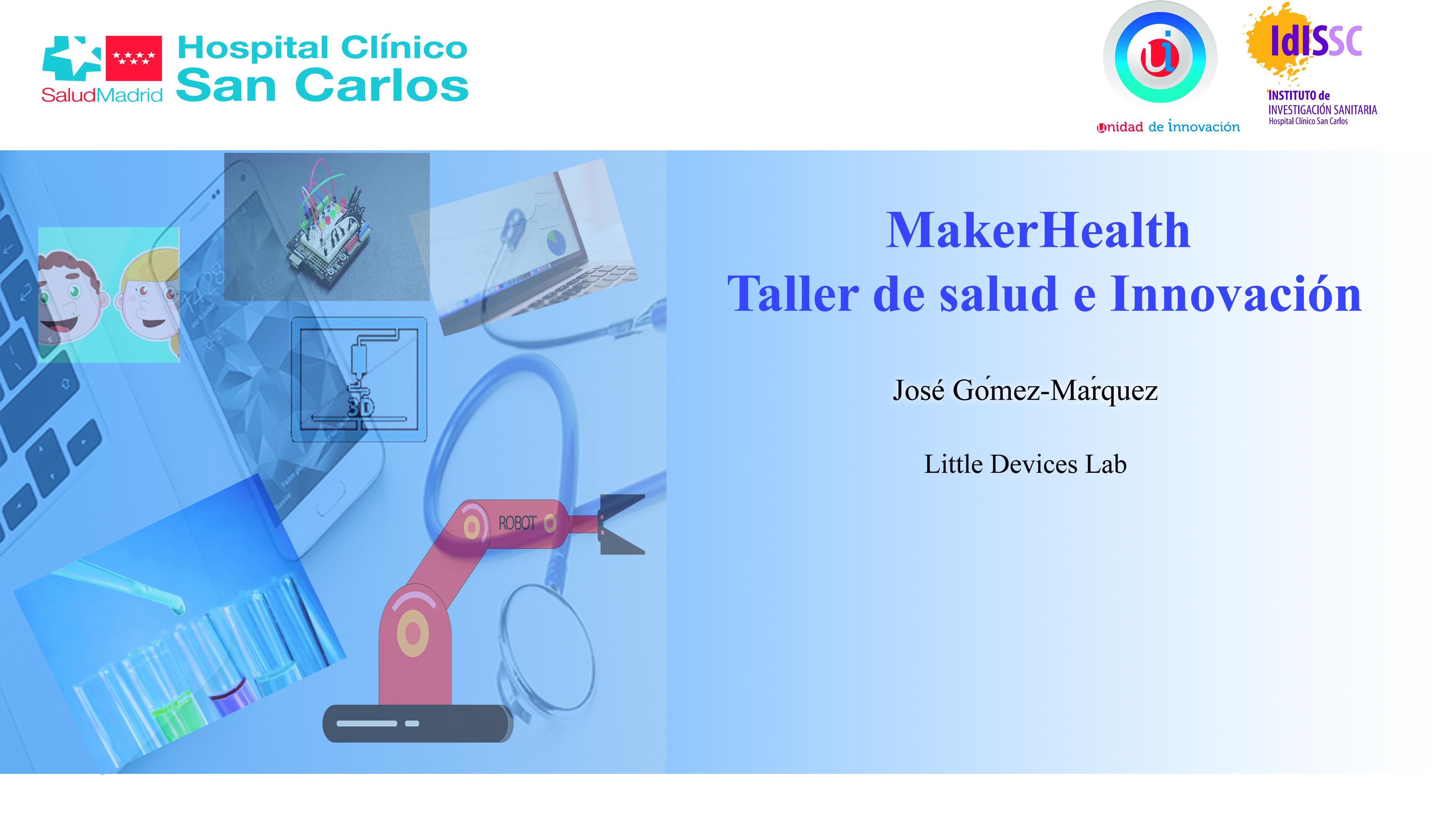 Taller interactivo de Salud e Innovación